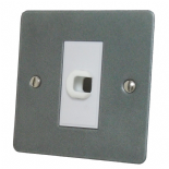 Flat Plate Pewter Flex Outlet Plates